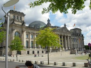 Berlin, Le Budenstag, Le parlement allemand