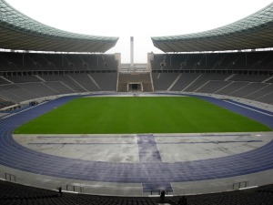 Le Stade Olympique de Berlin.
