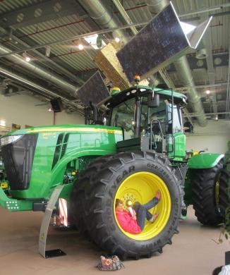Une idée de cet imposant tracteur !
