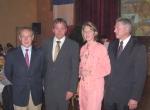 (De gauche à droite) Georges LAIGNEL, Paul LERHIEDER, Anja WEISBERGER, Werner ECK.