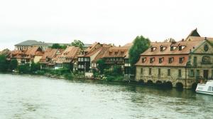 Au coeur de la Franconie, la ville de Bamberg sur la Regnitz