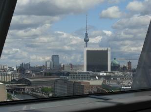 Berlin ! Vue générale depuis la coupole du Bundestag 2007