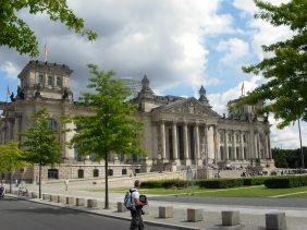 Berlin ! Le Bundestag, vue de l'extérieur - 2007