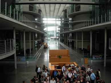 Berlin ! Visite guidée du Bundestag - 2007