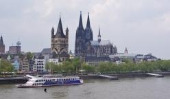 Cologne ! La cathédrale et l'église Gross St-Martin 2007