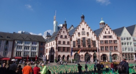 Römer (Hôtel de ville de Frankfurt depuis 1405)