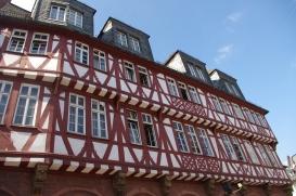 L'unique maison à colombages sauvegardée de Frankfurt !