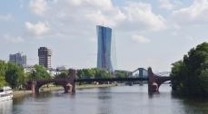 Nouveau siège de la banque centrale européenne (BCE) à Frankfurt !