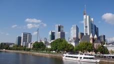 Vue générale sur les Grattes-ciel de Frankfurt !