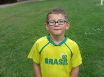 Un supporter du Brésil parmi nous !