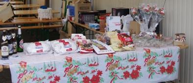 Les produits allemands : Bières, chocolat, gâteaux à la pâte d'amande, décorations de Noël...