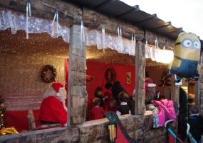 La maison du Père Noël !