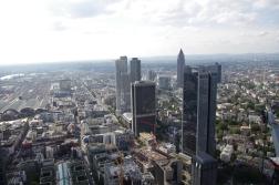 Panorama sur les Grattes-ciel de Frankfurt !