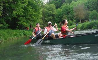 canoë-Kayak pour le 2ème groupe !