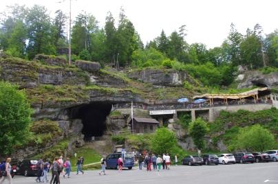 Visite de la grotte gigantesque du Diable à Pottenstein pour une partie du groupe !