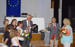 Remerciements à Jan pour ses 10 ans de présidence au sein du comité allemand !