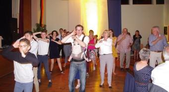 puis... place à la danse pour clôturer cette soirée...